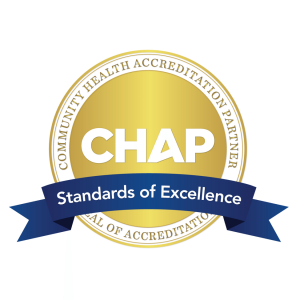 chap accreditation process and its relationship