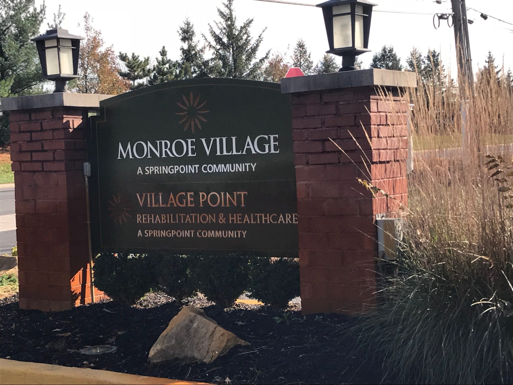Independence Home Care Volunteered To Help The Residents at Monroe Village Create Floral Arrangements For The Holidays